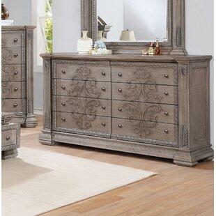 Braddy 8 Drawer Standard Dresser
