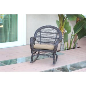 wicker rocker chair with cushions set of 4 - Wicker Rocking Chair