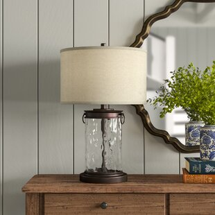 with textile cable Blown glass table lamp placed on a natural wooden base Also available as a pendant or wall lamp