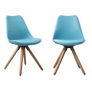 Plastic Dinning Side Chair (Set of 2)