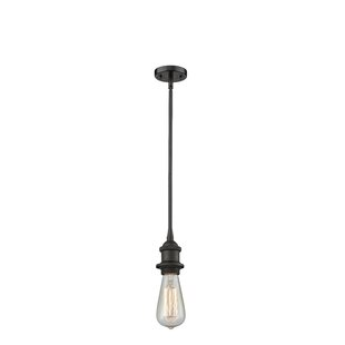 Williston Forge Bettine 1-Light Bulb Pend..