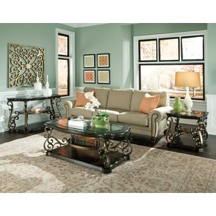 Standard Furniture Seville 3 Piece Coffee Table Set