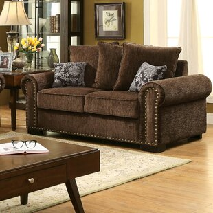 Compare Gunilla Chenille Loveseat by Darby Home Co Reviews (2019) & Buyer's Guide