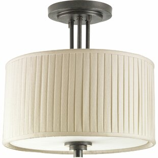 Cooley 2-Light Semi Flush Mount by Gracie Oaks