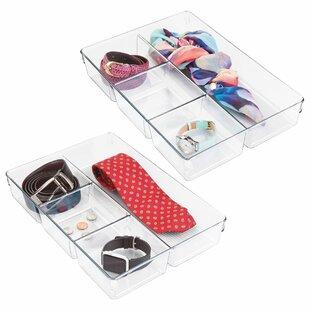 Affordable Price Eita 2.25 H x 13 W x 9 D Drawer Organiser (Set of 3) By Rebrilliant
