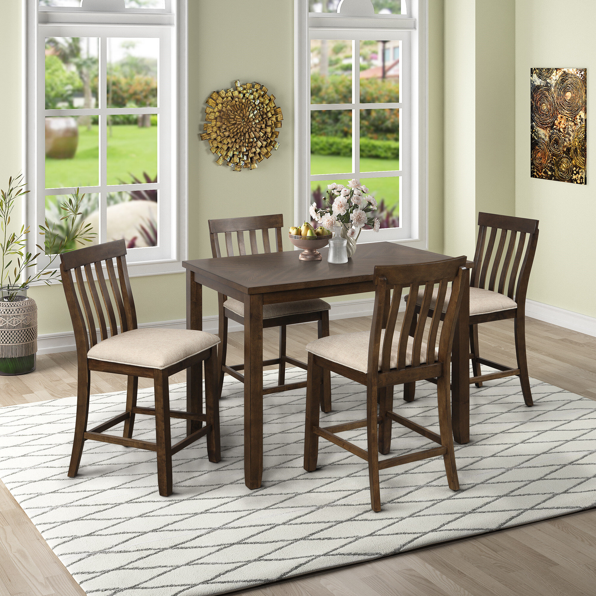 Yellow Bar Counter Height Dining Sets You Ll Love In 2021 Wayfair