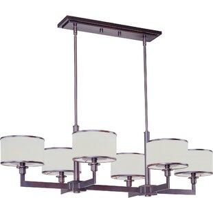 Find for Darcia 6-Light Kitchen Island Pendant By Darby Home Co