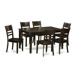 Capri 7 Piece Dining Set by Wooden Importers Best