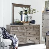 Heidi 7 Drawer Dresser with Mirror by Darby Home Co