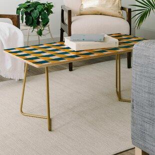 Bargain The Old Art Studio Geometric Coffee Table by East Urban Home