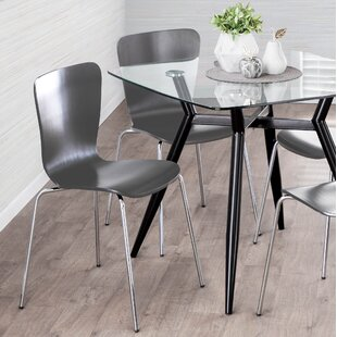 Vicente Bentwood Dining Chair (Set of 4) Orren Ellis