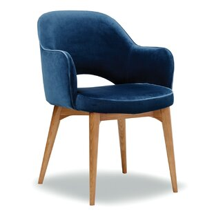 Reviews Embourg Upholstered Dining Chair by House of Hampton