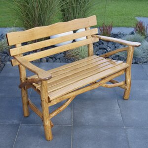 2-Sitzer Gartenbank Mosel aus Massivholz von Home & Haus