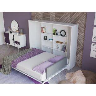 Hansell Queen Storage Murphy Bed by Brayden Studio