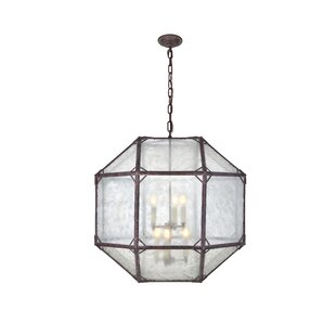 One Allium Way Puccio 6-Light Geometric Chandelier