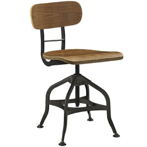 Adjustable Height Swivel Bar Stool by Modway