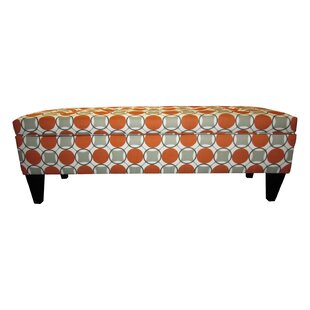Regis Traditional Fabric Storage Bench