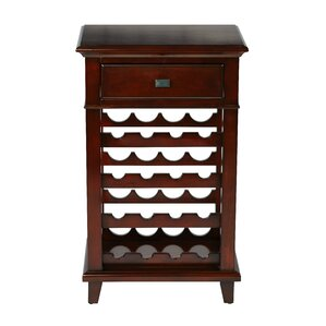 16 Bottle Floor Wine Rack by OSP Designs
