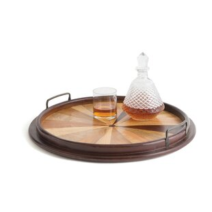 Brown Wood Serving Tray