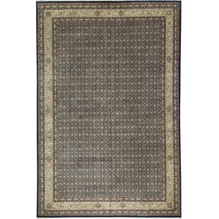 Searching for One-of-a-Kind Manchuria Handwoven 11'9 x 17'9 Wool Black/Gray Area Rug By Bokara Rug Co., Inc.
