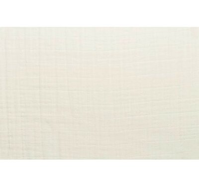 100% Cotton Fitted Crib Sheet Blueberrie Kids Color: Latte