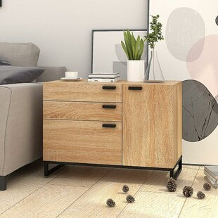 Find a Lourenco 3 Drawer Nightstand by Union Rustic