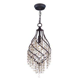 Rosdorf Park Dede 1-Light Crystal Pendant