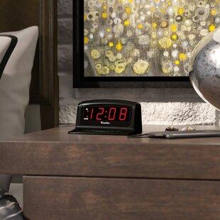 Electric Alarm Clocks Bedside   Wayfair