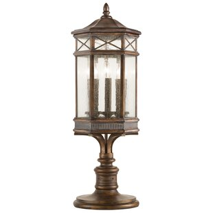 Affordable Holland Park Outdoor 3-Light Pier Mount Light By Fine Art Lamps