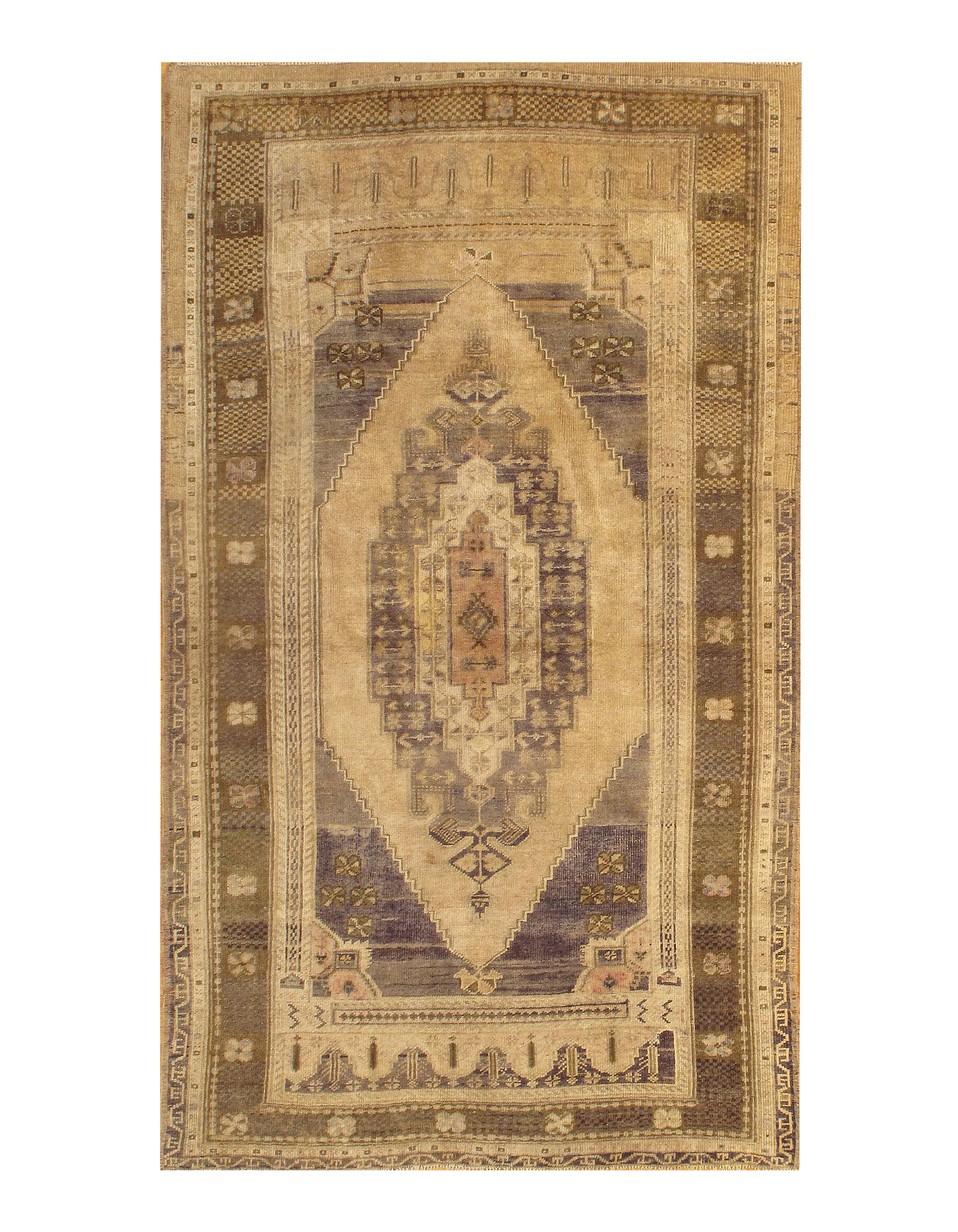 Bungalow Rose One Of A Kind Colella Hand Knotted Beige 3 11 X 6 0 6 Wool Area Rug Wayfair