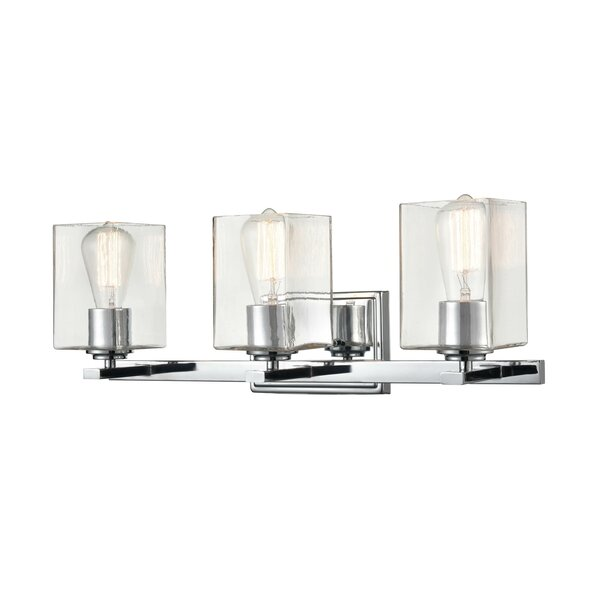 Liston 3-Light Dimmable Vanity Light by Everly Quinn