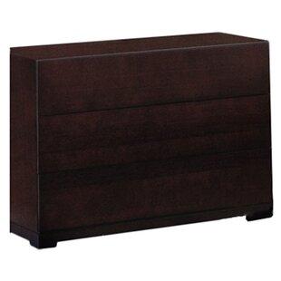 Latitude Run Bohy 3 Drawer Dresser
