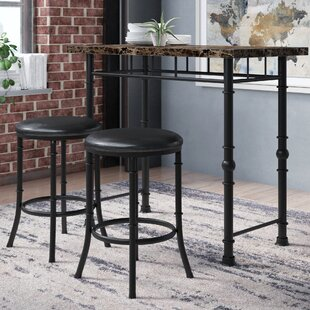 Giles 3 Piece Dining Set