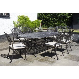 Hugh 6 Seater Dining Set With Cushions Image