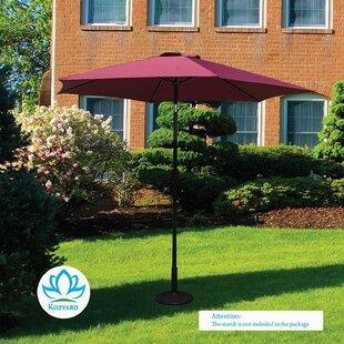 Charlton Home Keltner Patio Outdoor 9' Market Umbrella