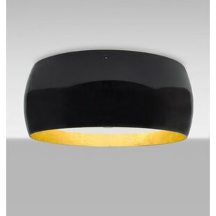 Brayden Studio Speidel 3-Light Outdoor Flush Mount