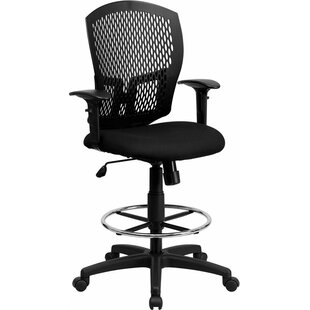Krull Mesh Drafting Chair by Symple Stuff