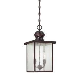 Keele 2 Light Outdoor Hanging Lantern By Ophelia & Co.