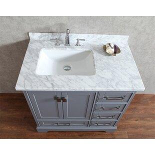 Signature Series 36 Single Bathroom Vanity Set by Belvedere Bath