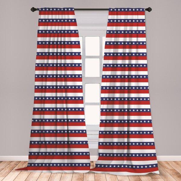 Patriotic Curtains Wayfair