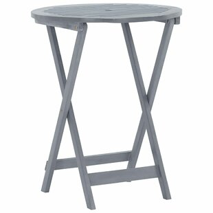 Routt Folding Wooden Bistro Table By Sol 72 Outdoor