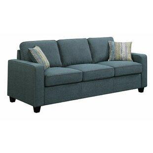 Ivy Bronx Mcloughlin Wooden 3 Seater Sofa