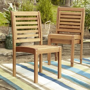 Birch Lane™ Callaway Patio Dining Chair (Set of 2)