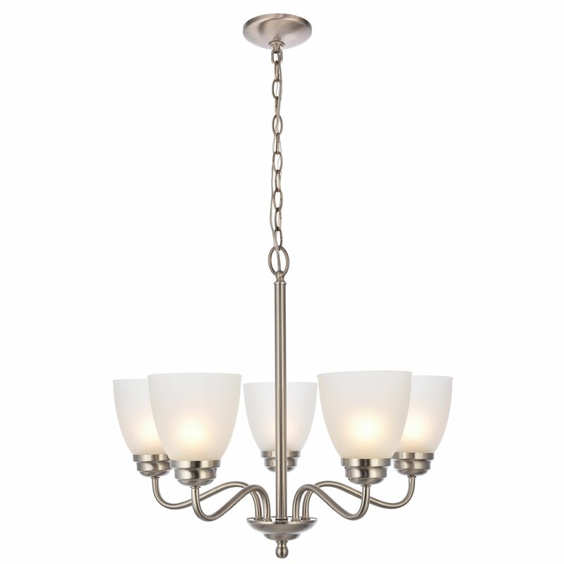Hampton 5-Light Shaded Chandelier