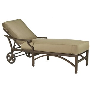 Leona Grand Regent Chaise Lounge with Cushion