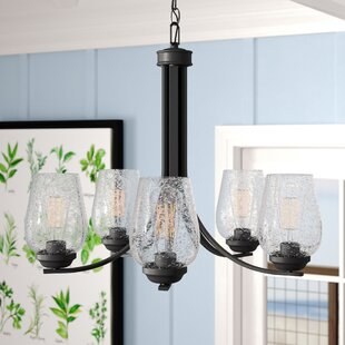 Chubbuck 5-Light Shaded Chandelier by Laurel Foundry Modern Farmhouse