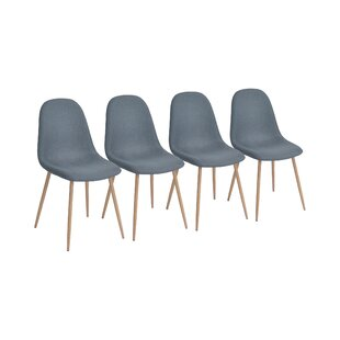 Charlton Vintage Upholstered Side Chair (Set Of 4) By Hazelwood Home