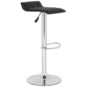 Lamita Adjustable Height Swivel Bar Stool by Safavieh