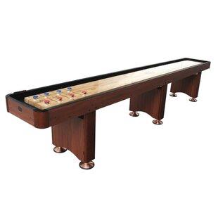 Woodbridge 16' Cherry Shuffleboard ByPlaycraft