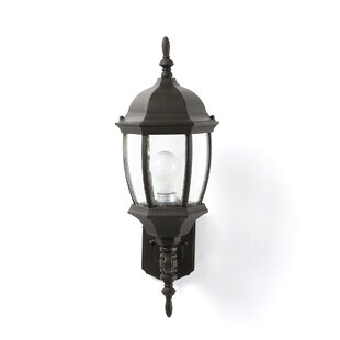 Brew 1-Light Outdoor Sconce by Charlton Home